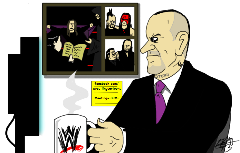 The Undertaker as COO of Wrestlemania