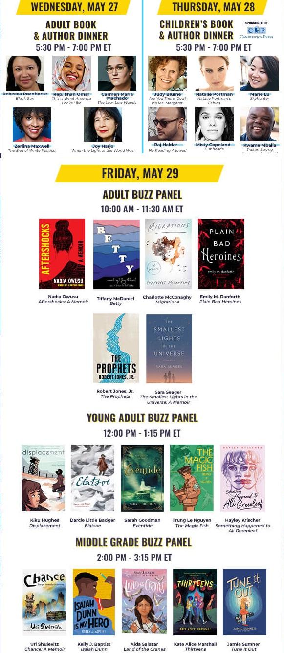 Book Expo Online 2020 Schedule